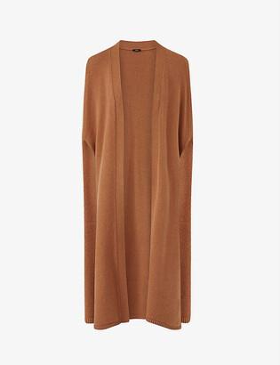 Joseph Lina wool and cashmere-blend cape
