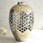 Pier 1 Imports Quatrefoil Cutout Vase