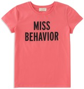 Kate Spade Girls' Miss Behavior Tee