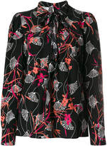 Valentino floral blouse