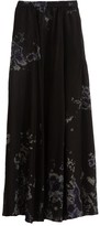 Raquel Allegra Parachute Skirt in Black Sky Tie Dye