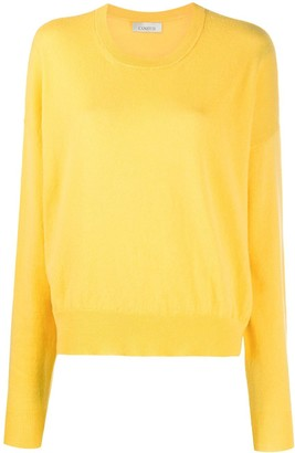 Laneus Crewneck Dropped-Shoulder Jumper