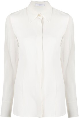 HUGO BOSS Sheer-Sleeve Shirt