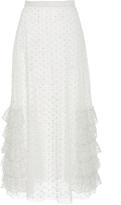 Rodarte Ruffled A-Line Skirt
