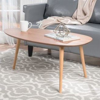 Noble House Eaton Natural Wood Coffee Table