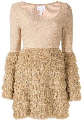 Alice McCall tiered fringe dress
