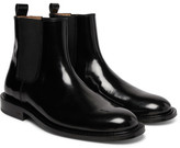 Ami Polished-Leather Chelsea Boots