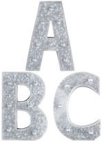 Pier 1 Imports LED Galvanized Metal Monogram Letters