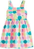 Blueberi Boulevard Dot-Print Dress, Baby Girls (0-24 months)