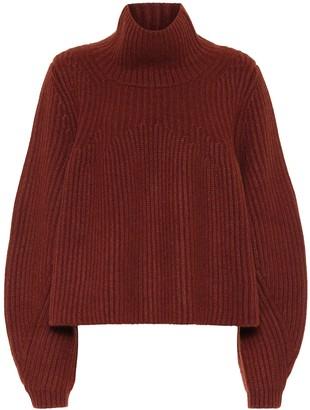 KHAITE Denney cropped cashmere sweater