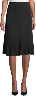 Misook Gored A-Line Skirt