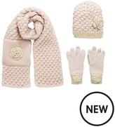 Very Girls 3 Pc Coco Hat, Scarf & Glove Set