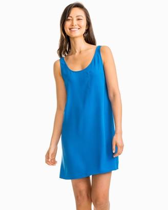 Southern Tide Carly Blue Tank Dress
