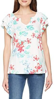 S'Oliver Women's 14.806.32.3286 T - Shirt, Eclipse Blue AOP 58B0