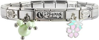 Nomination Play with Fairies Sterling Silver & Stainless Steel Bracelet
