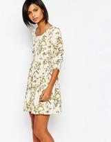 Vila Floral Skater Dress