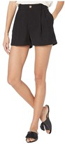 Vince High-Rise Shorts (Black) Women's Shorts