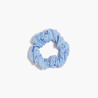 J.Crew Oxford scrunchie