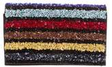 Alice + Olivia Multicolor Beaded & Sequin Clutch
