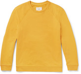 Folk - Loopback Cotton-jersey Sweatshirt