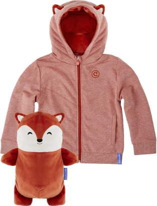 Cubcoats Flynn 2-in-1 Stuffed Animal Hoodie