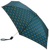 Fulton Tiny Bees Folding Umbrella, Navy/Gold