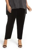 Eileen Fisher Plus Size Women's Velvet Ankle Pants