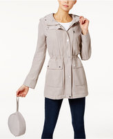 Calvin Klein Packable Cinched-Waist Parka