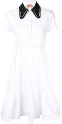 No.21 Flared Shirt Dress