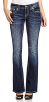 Miss Me Embellished-Pocket Bootcut Jeans