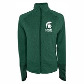 NCAA Michigan State Spartans Women's Full-Zip Performance Jacket