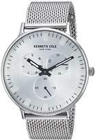 Kenneth Cole New York Men's 'Sport' Quartz Stainless Steel Dress Watch