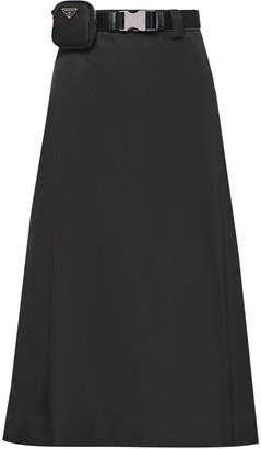 Prada Re-Nylon gabardine skirt
