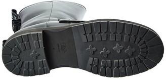 Fendi Ff Biker Leather Boot