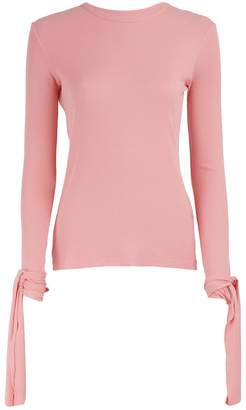 J.W.Anderson Tie-sleeved T-shirt