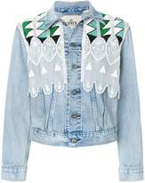 Levi's Made & Crafted short embroidered denim jacket