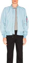 Alpha Industries L 2B Scout Bomber in Baby Blue. - size L (also in )