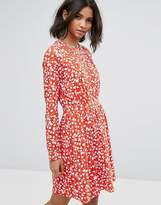 Vila Floral Printed Shift Dress