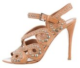 Alaia Studded Cage Sandals