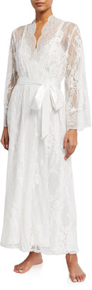 Jonquil Colette Long Lace Robe