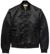 Givenchy Padded Satin Bomber Jacket