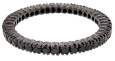 Sethi Couture Black Diamond Prong Set Band Ring - Black Rhodium