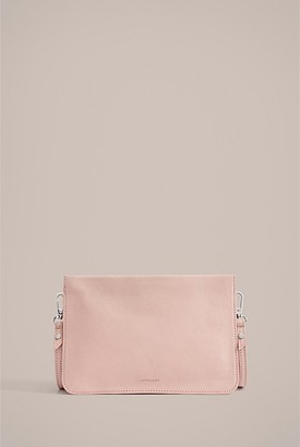Witchery Raya Leather Crossbody Bag