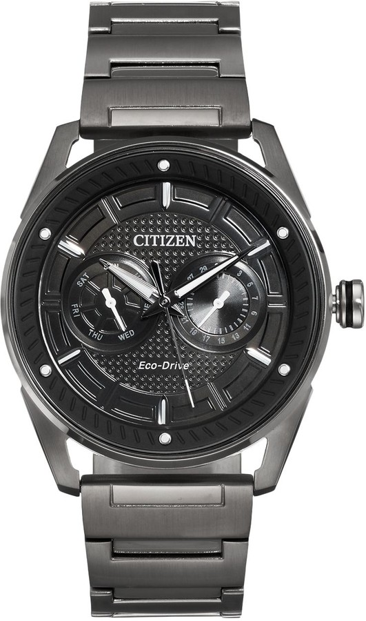 Citizen Drive From Eco-Drive Men's CTO Stainless Steel Watch - BU4025-59E