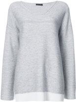 ATM Anthony Thomas Melillo loose V-neck sweater