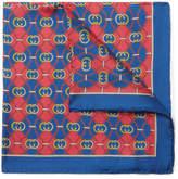Gucci Printed Silk-Twill Pocket Square