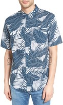 Ezekiel Men's Palm Print Woven Shirt