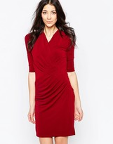 Wal G Dress With Wrap Front
