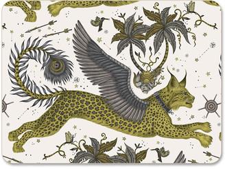 Emma J Shipley - Lynx Placemat - Gold