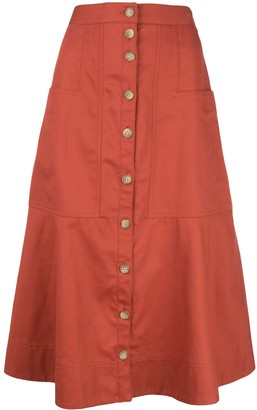 Tibi Harrison skirt
